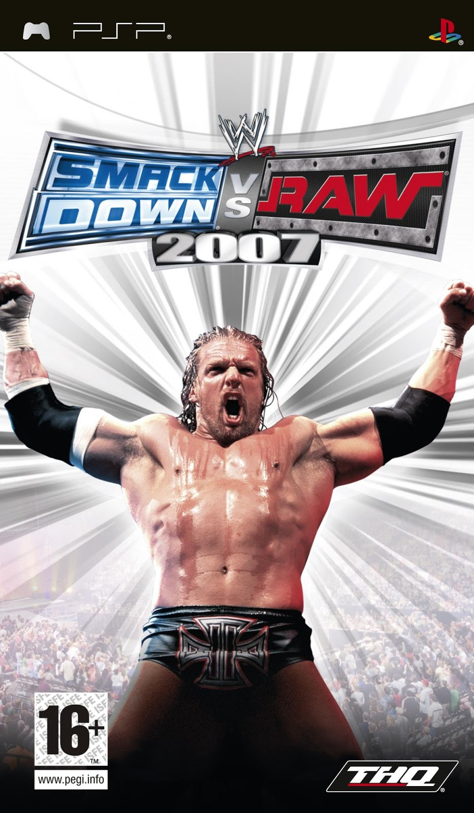 PC GAMES BEST: WWE SmackDown vs RAW 2007 PSP FOR ANDROID GAMES