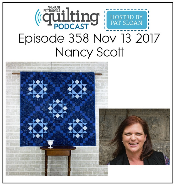 American Quilting & Patchwork Podcast Hosted by Pat Sloan