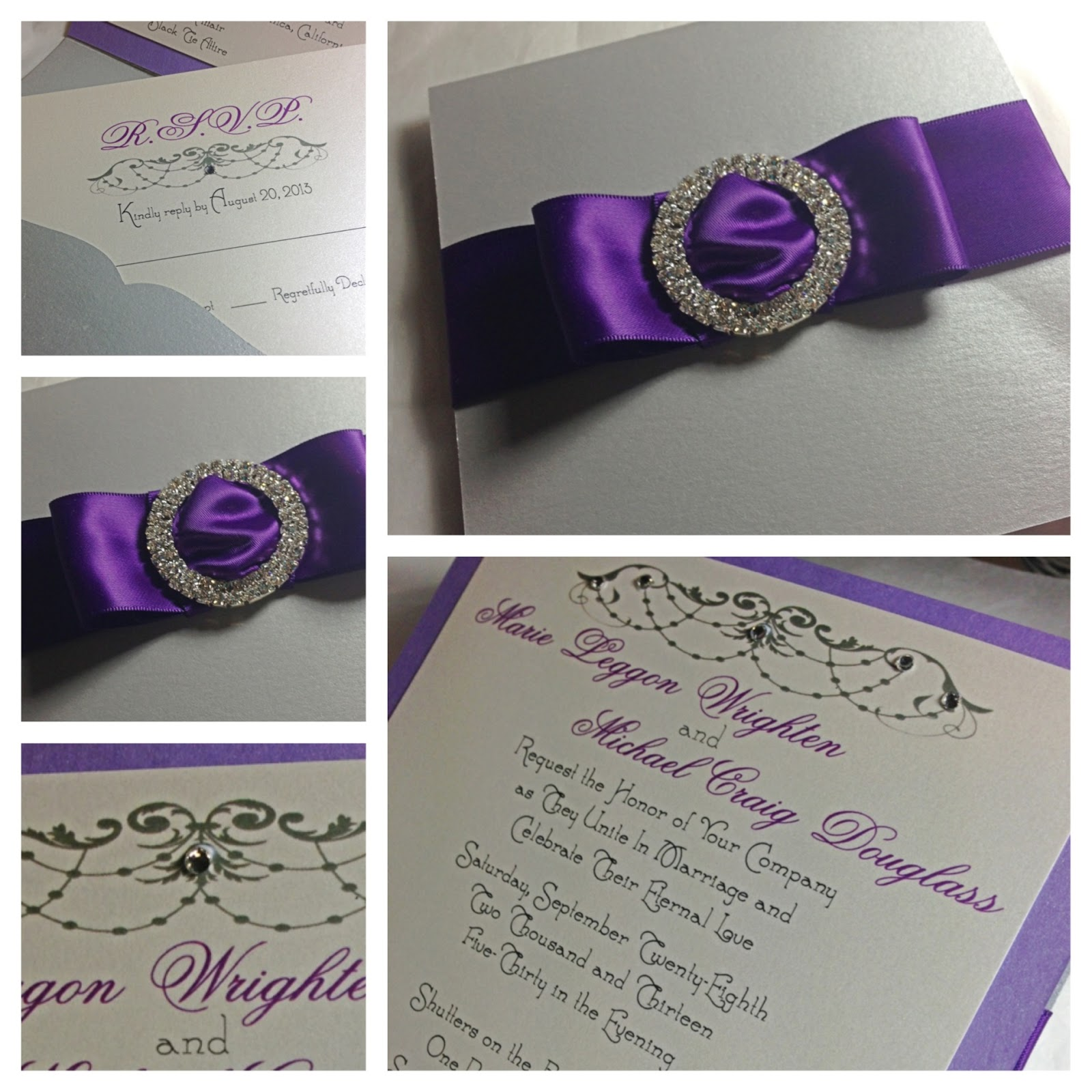 Couture Wedding Invitations was great invitations sample