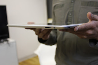 iPad 2 on Hands