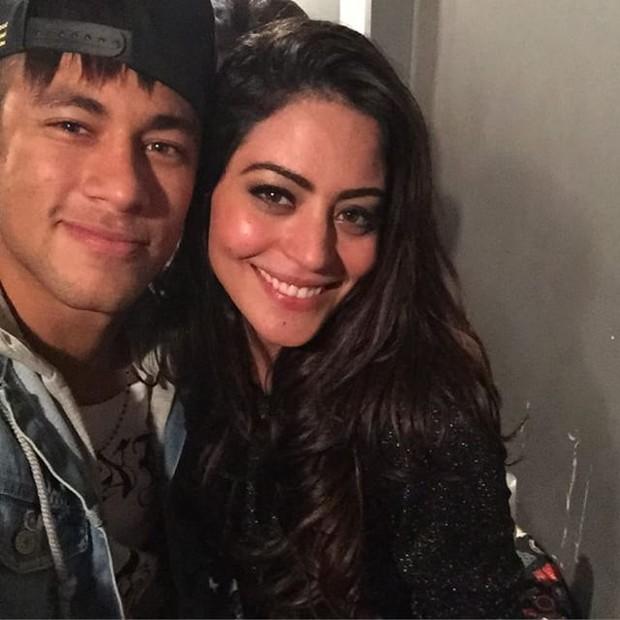 Neymar and Carol Castro