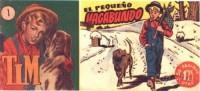Próximamente: TIM. EL PEQUEÑO VAGABUNDO HISPANO AMERICANA DE EDICIONES ( 57 tebeos) 1950
