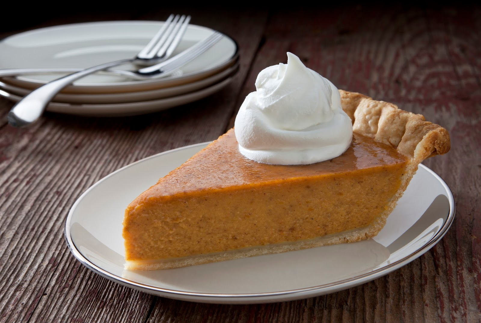 Brown Sugar Pumpkin Pie - The Country Cook