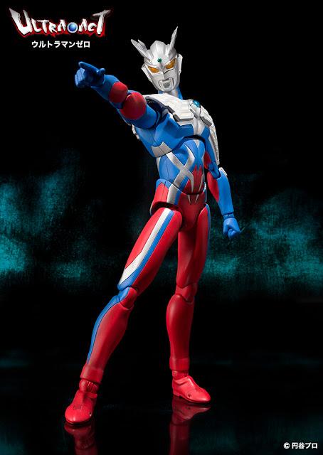 Bandai Ultra-Act Ultraman Zero V2 Figure