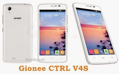 Gionee CTRL V4S: 4.5 inch IPS, 1.3GHz quad core, HotKnot,Android Smartphone Specs, Price