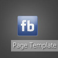 Facebook Page Template V1 By Blogger Ever