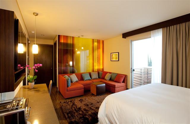 Suíte no Sirtaj Hotel em Los Angeles