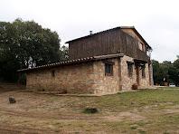 La façana de ponent de la Casa de Fusta