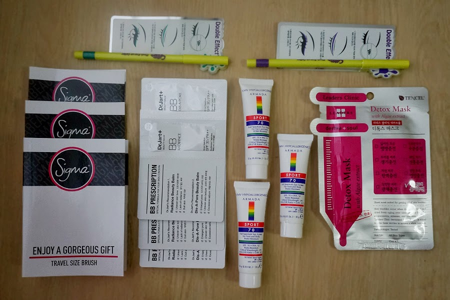 Color Bucket and Leaders Insolution from Luxola.com