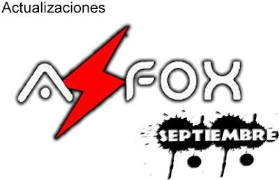 Actualizaciones Azfox 1 Septiembre 2013