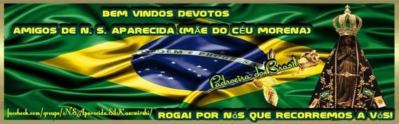 Nossa Senhora Aparecida Padroeira do Brasil rogai por nós.