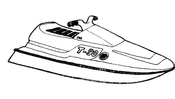 jet ski coloring pages - photo#25