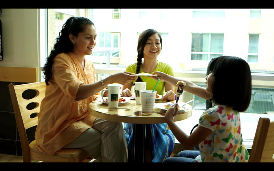 Daiyan Trisha, Bront Palare & Mia Sara Nasuha