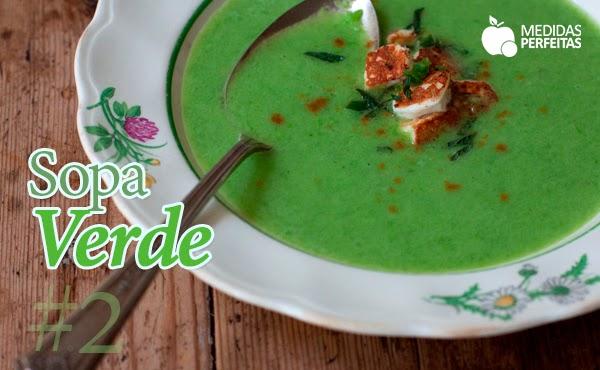 Sopa Verde – Sopas para Emagrecer