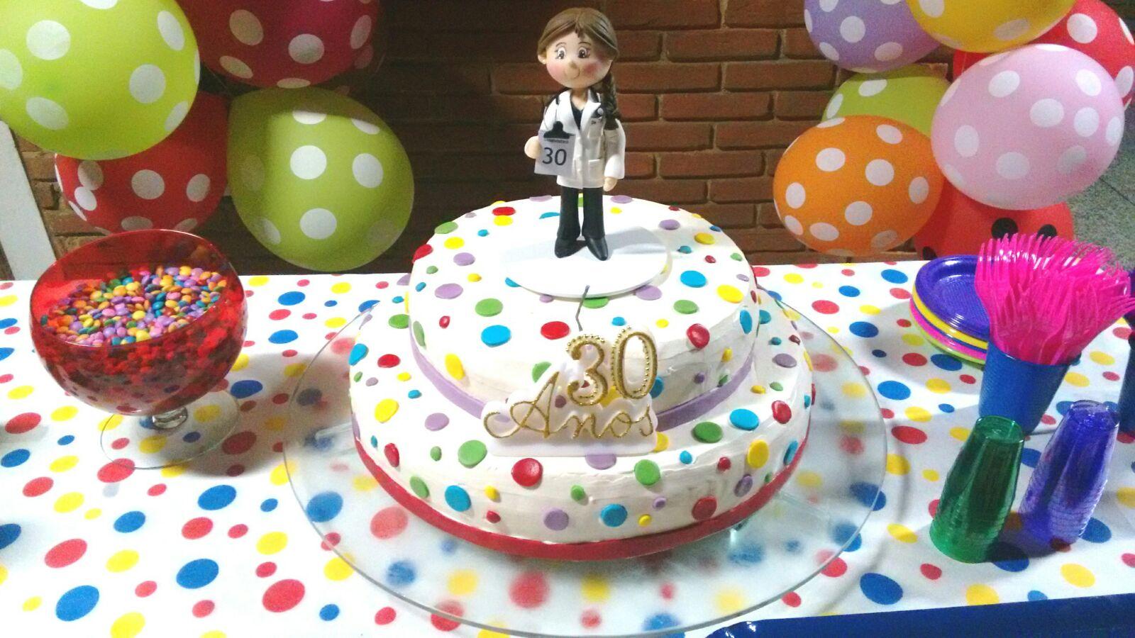 Topo de bolo aniversrio de 30 anos snia biscuit topo de bolo aniversrio 30 anos mdica biscuit mdico altavistaventures Images