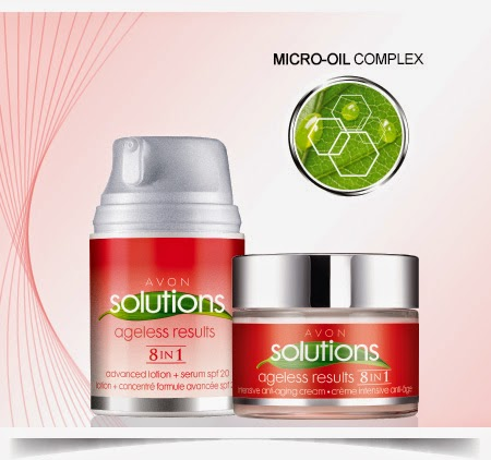 AVON PRESENTA SOLUTIONS AGELESS RESULTS 8-IN-1 - Prodotti da ordinare sul Catalogo Avon Online