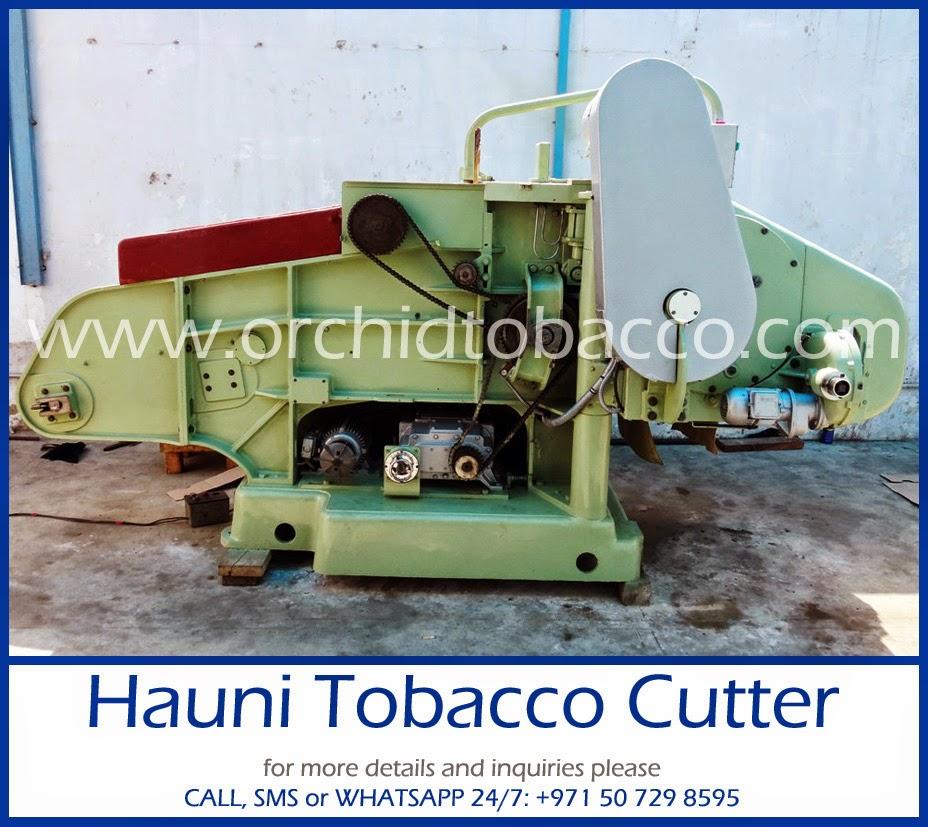tobacco cutting machine 2014