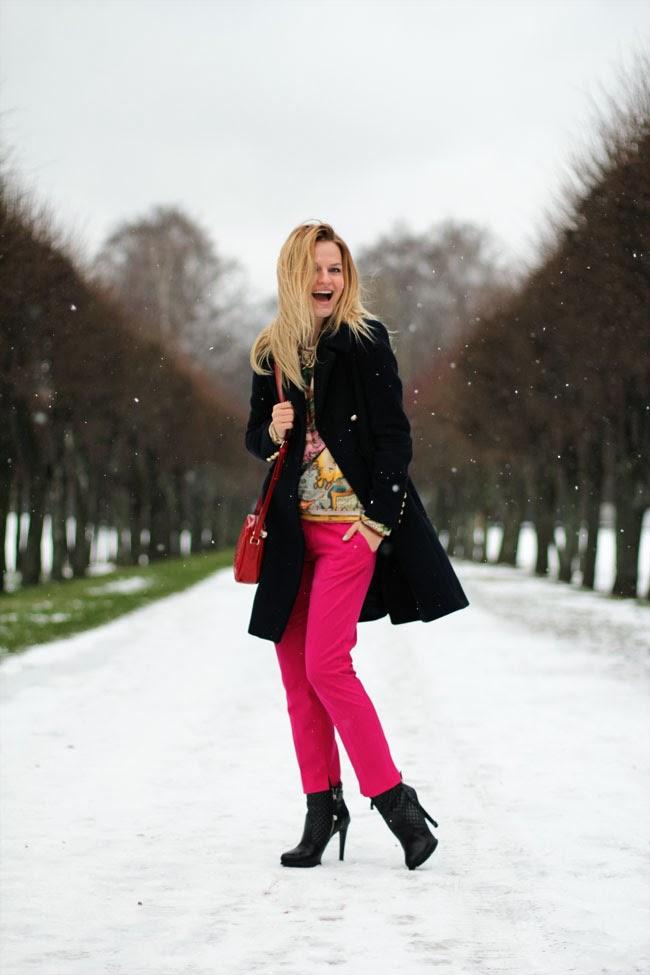 зимний лук,луки,модный лук