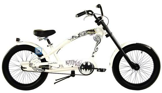Noti Bicimotos: Bicicleta TURBO Chopper Batman LE Rodada 20 x 20