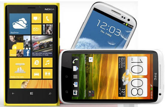 Samsung Galaxy S3 vs Lumia 920
