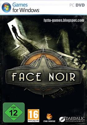 Face Noir PC Cover