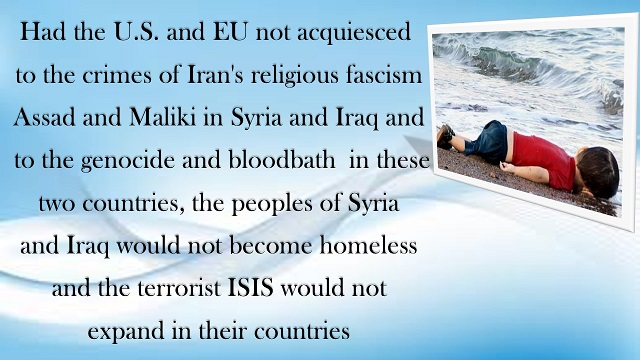 Iran-Syria- Maryam Rajavi's massage