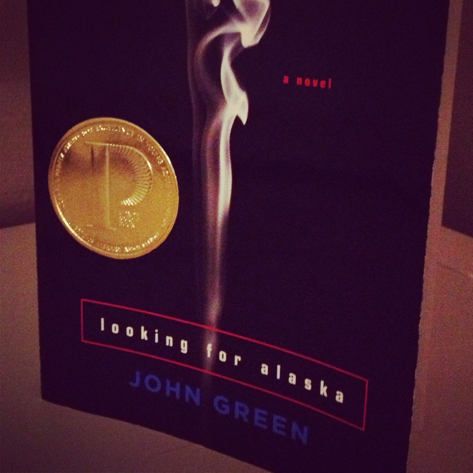 John Green's novel, Looking for Alaska