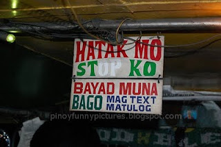 jeepney sign