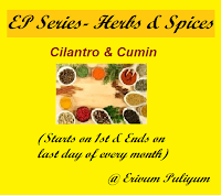 Ongoing Event- Cilantro &amp; Cumin