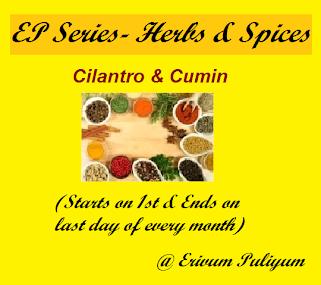 Ongoing Event- Cilantro & Cumin