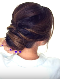 Cute DIY Hairstyles: 5-MINUTE Romantic Bun Hairstyle Tutorial