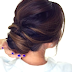 Cute DIY Hairstyles: 5 minute Romantic Bun Hairstyle Tutorial