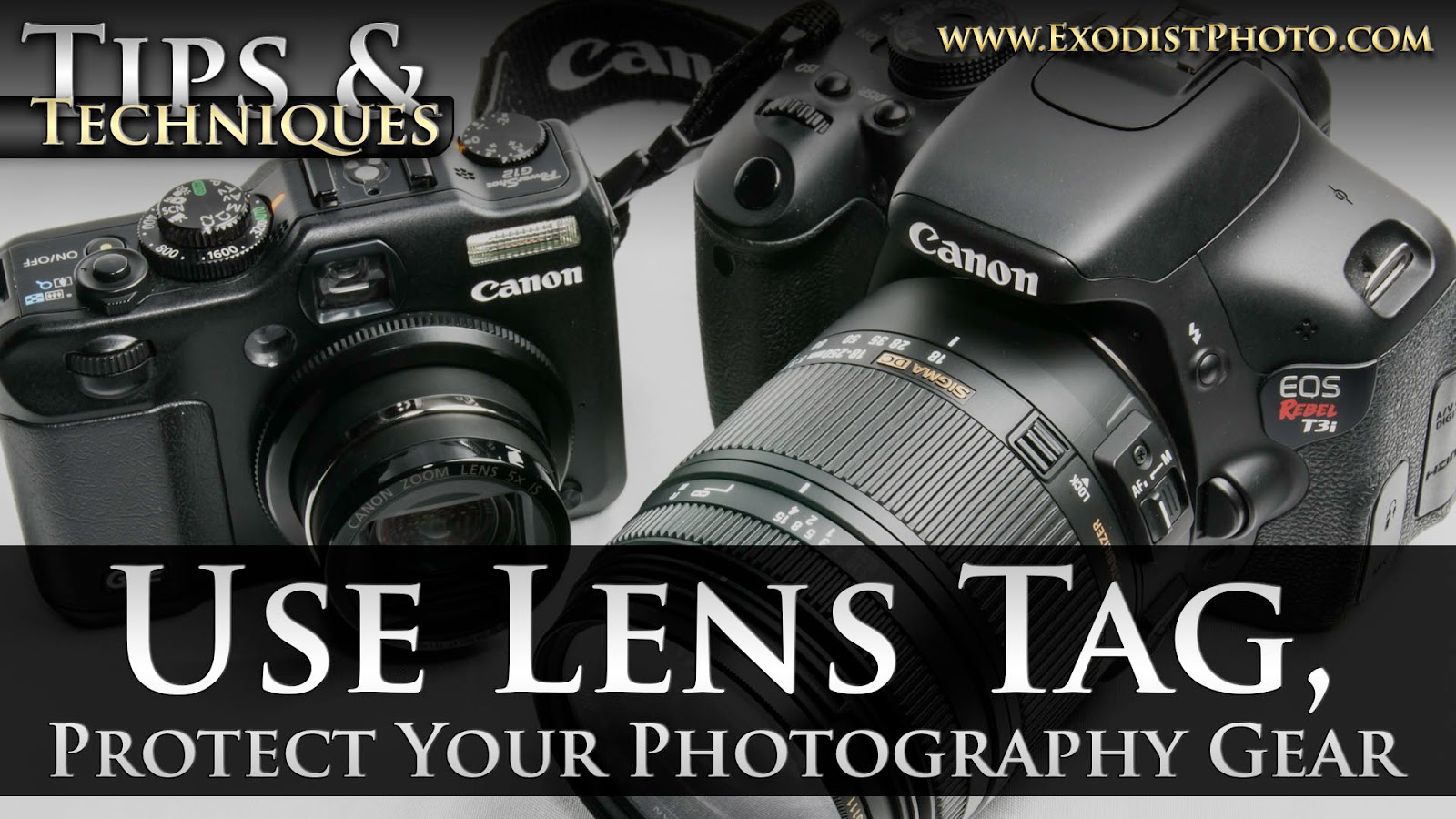 Use Lens Tag, Protect Your Photography Gear | Tips & Techniques