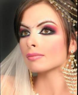 Arabic Makeup on Latest Arab Design  Bride Make Up And Eye Make Up