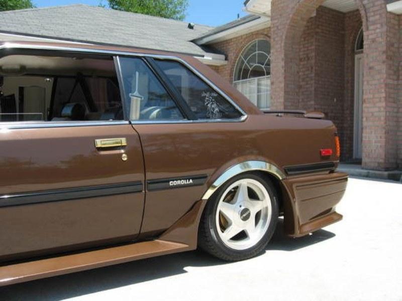 Modifikasi Toyota Corolla DX Tahun 1982