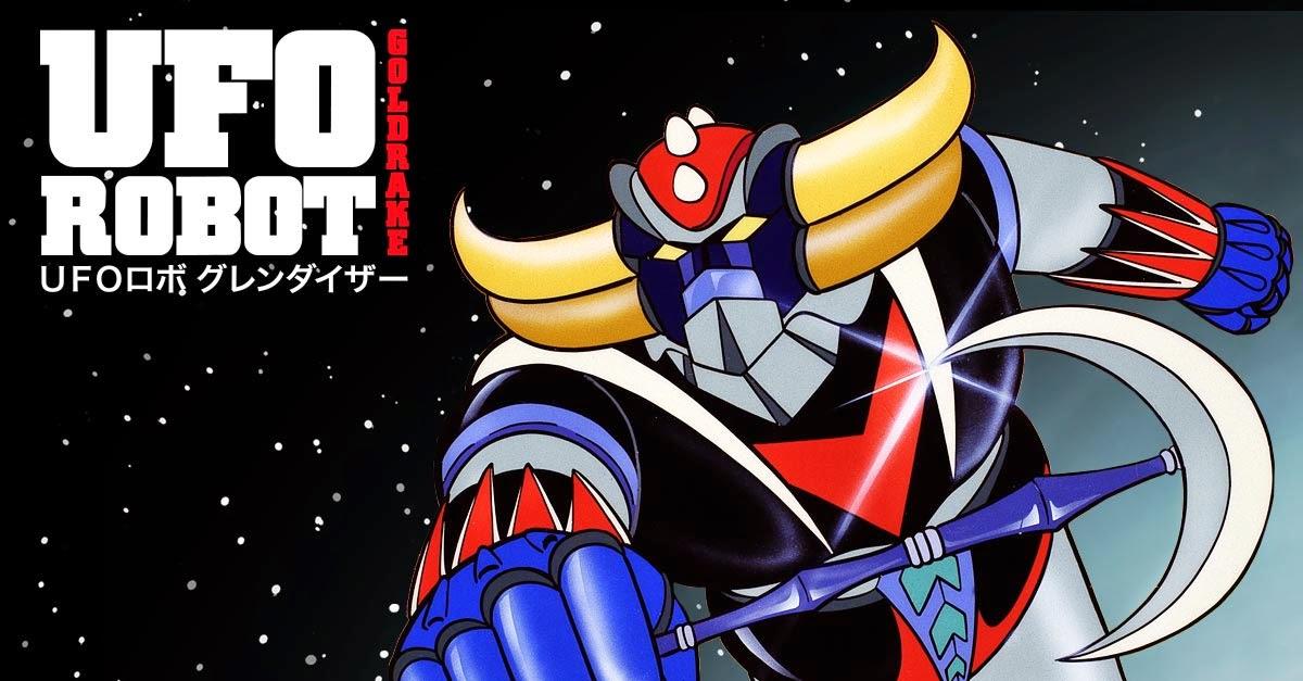 Ufo robot goldrake la serie animata per prima volta in