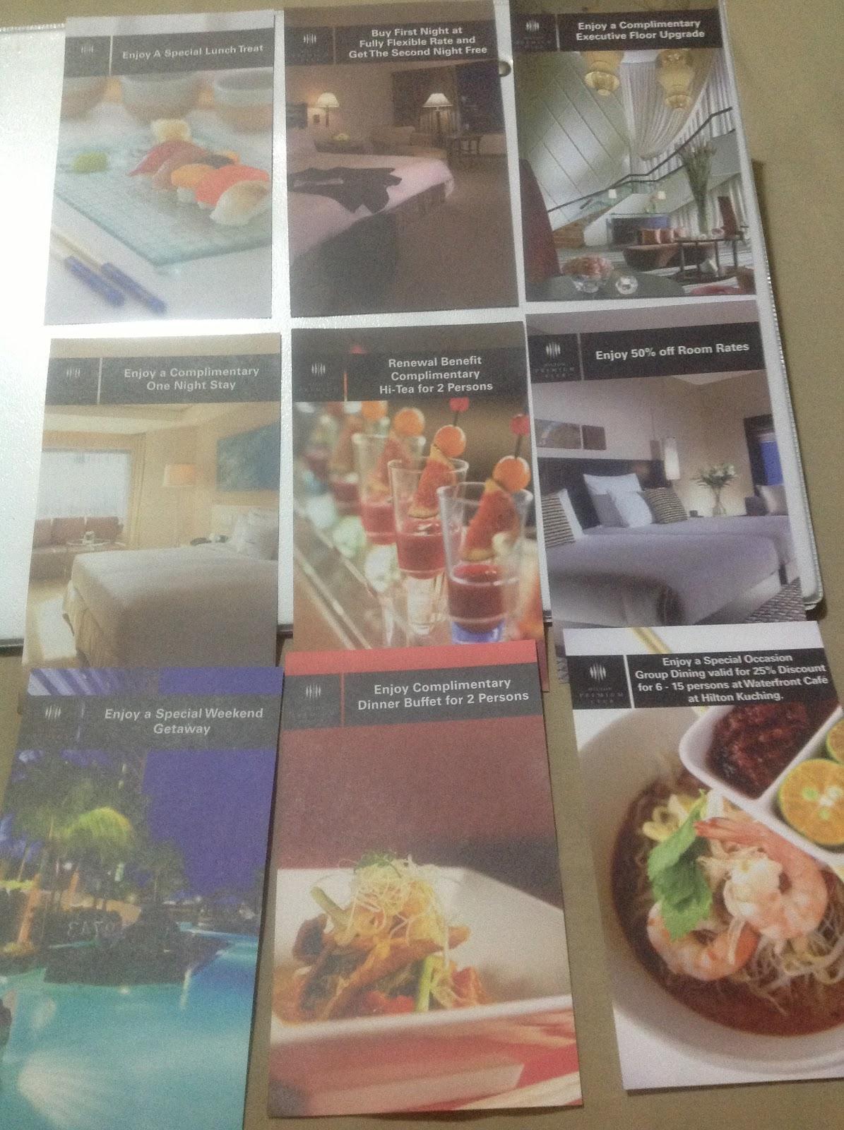 BFF RAMBLINGS: Hilton Premium Club