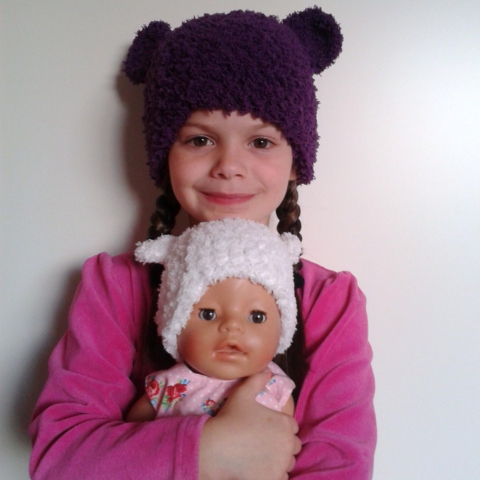 A La Sascha Baby Tot Tiener Beren Muts Met Haakpatroon