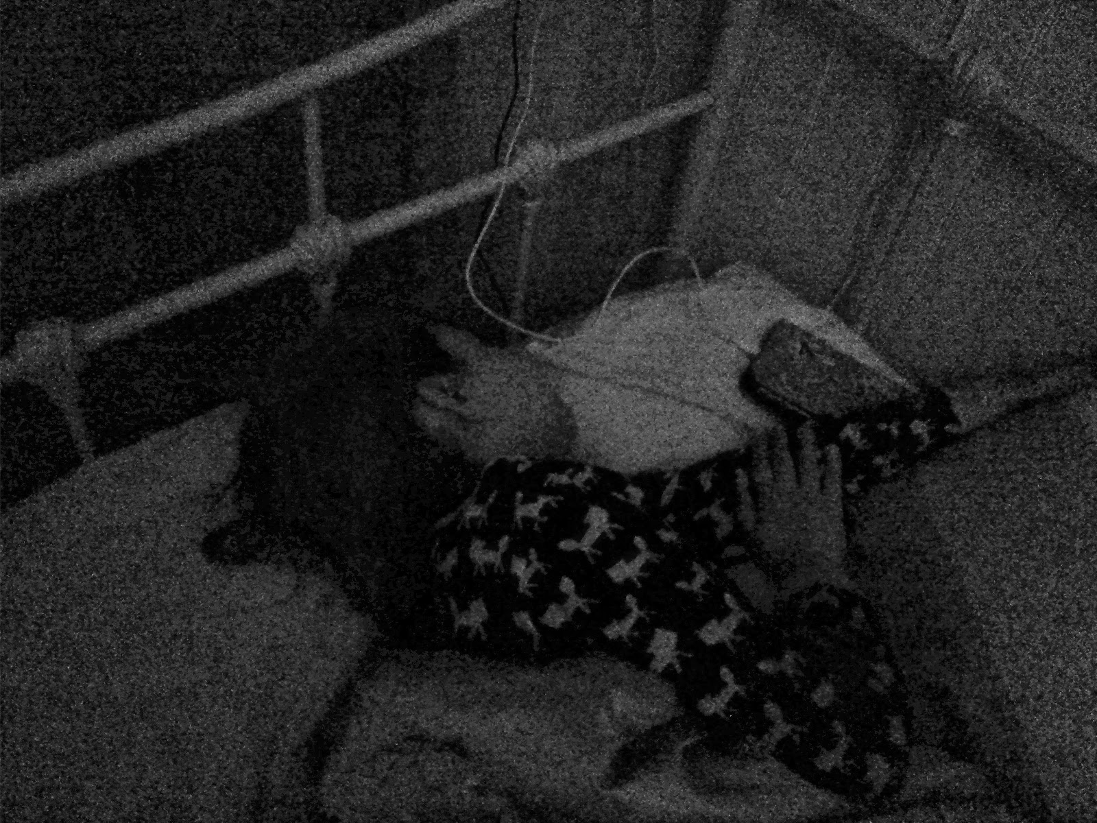 Top Ender in Top Ender's bed