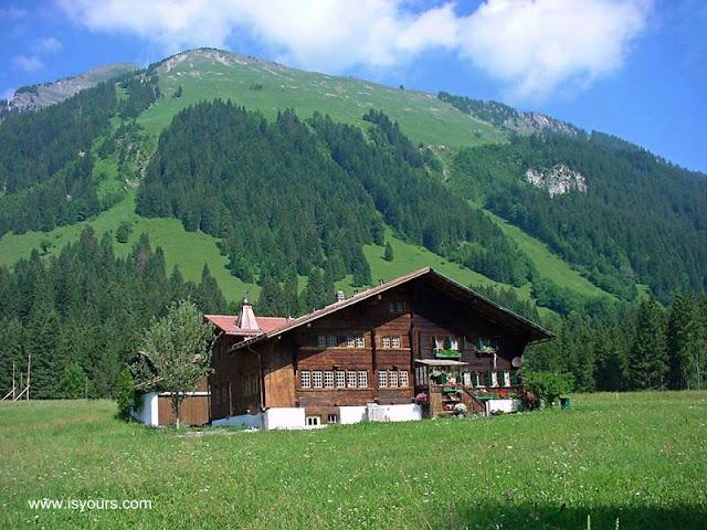Casa de tipo chalet en Suiza