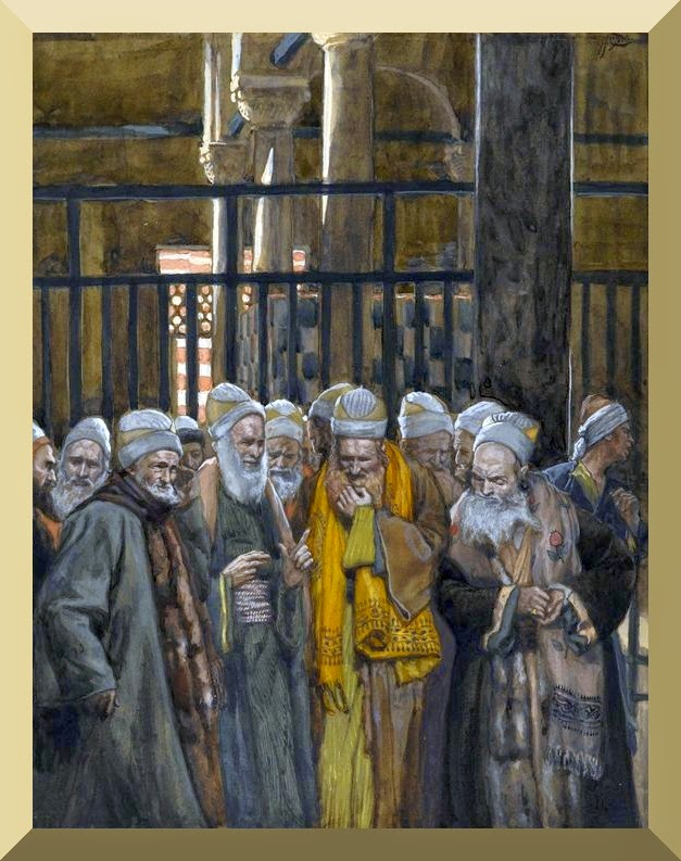 """Conspiracy of the Jews"" -- by James Tissot"