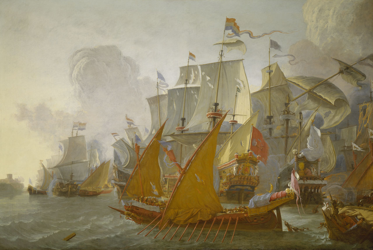 Recreating the ships of the 17th century