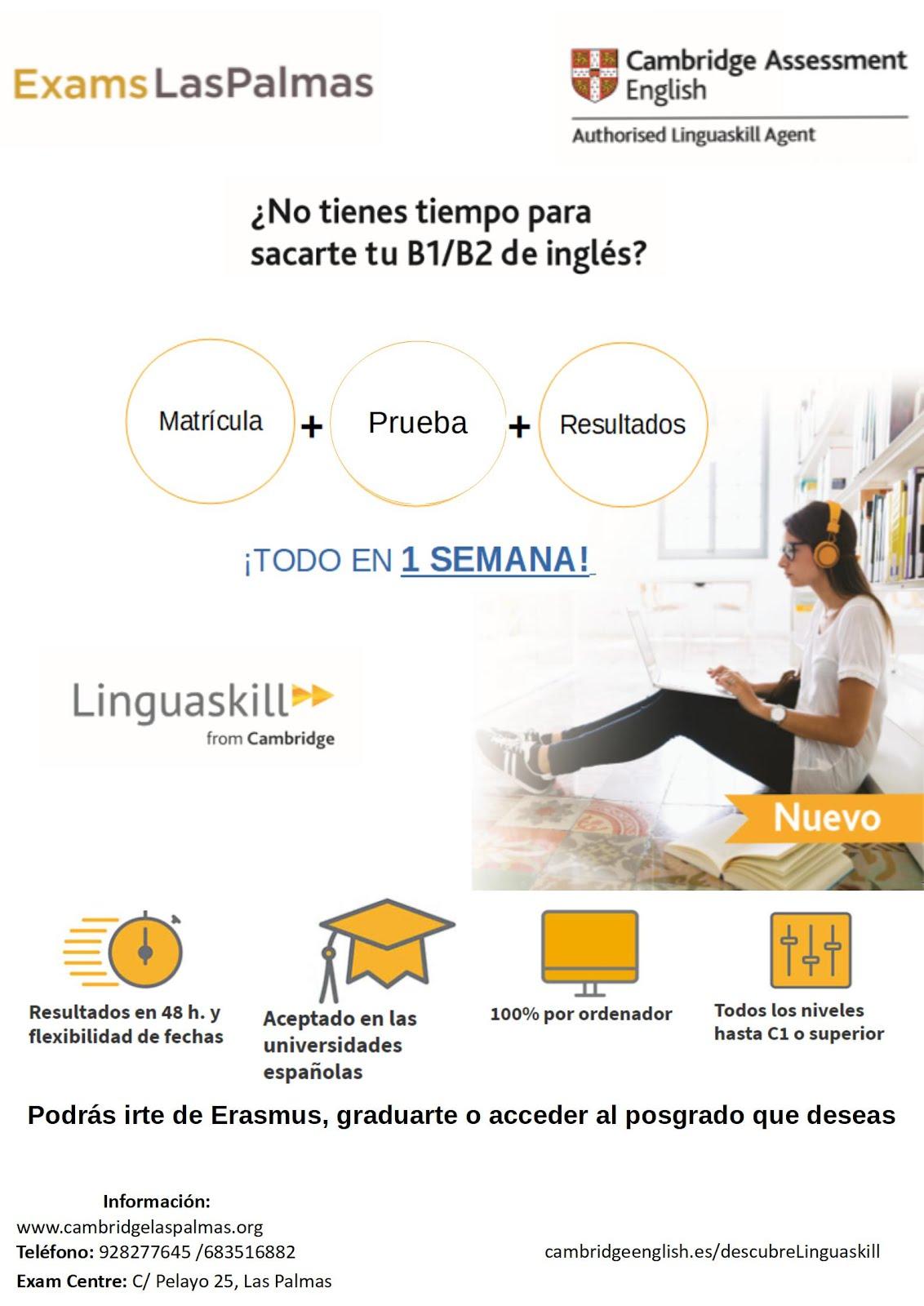 ¡SOMOS AGENTES OFICIALES DE LINGUASKILL!