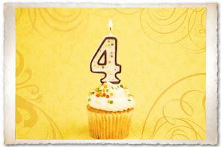 4 anni x il blog di Diana