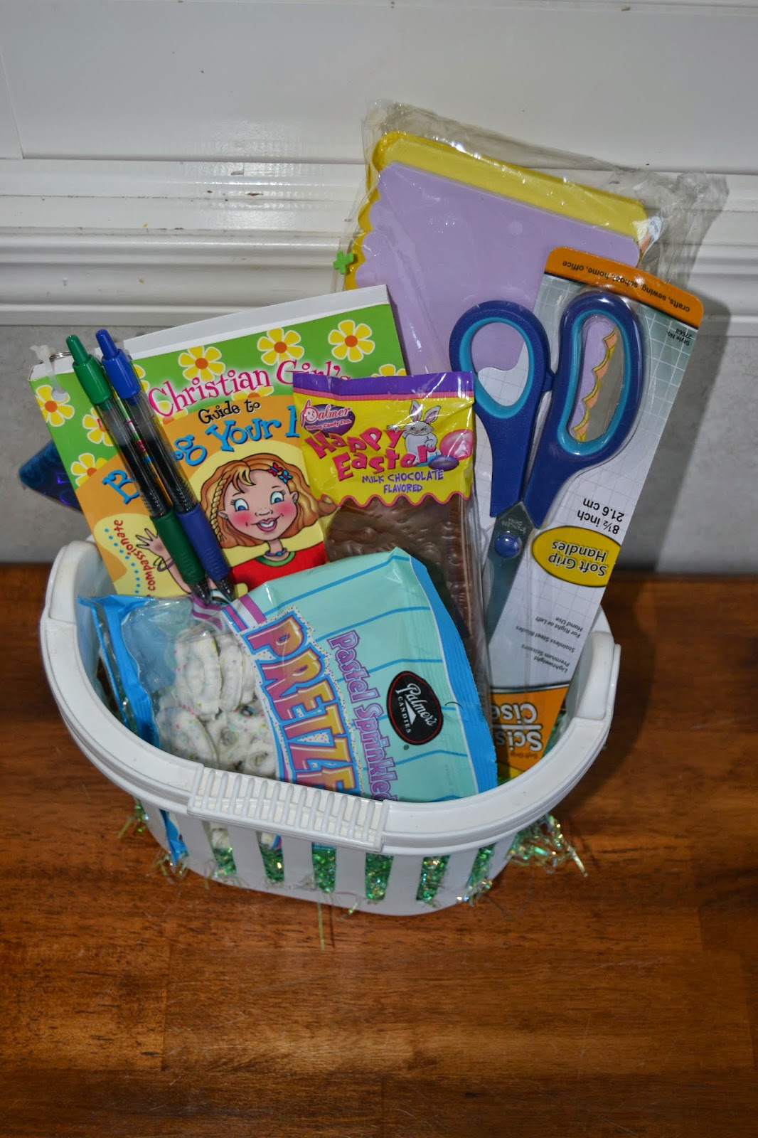 Cassel crew last easter basket ideas its like a guide to life that covers some important topics chapters are what is being your best use your talents do your best negle Gallery