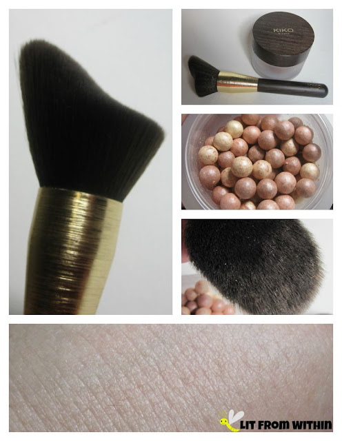 Kiko Sahara Glow highlighter and brush