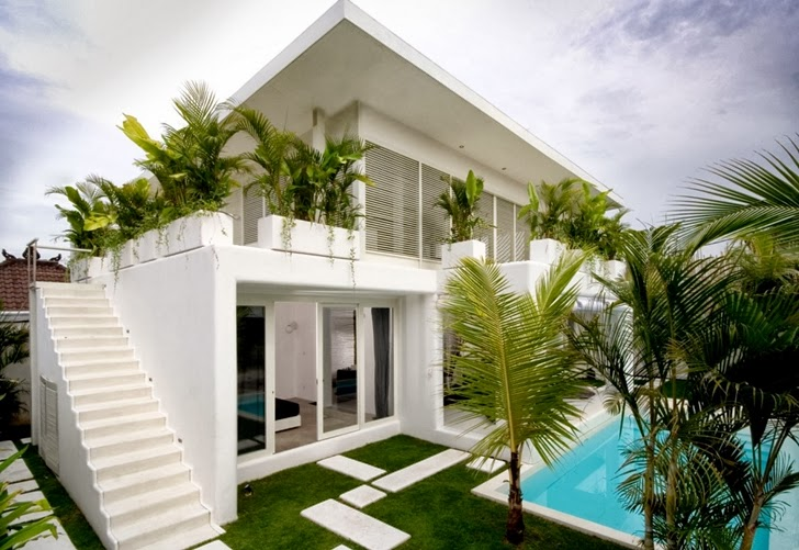 World of Architecture: Exotic Contemporary Style House in Bali by ...