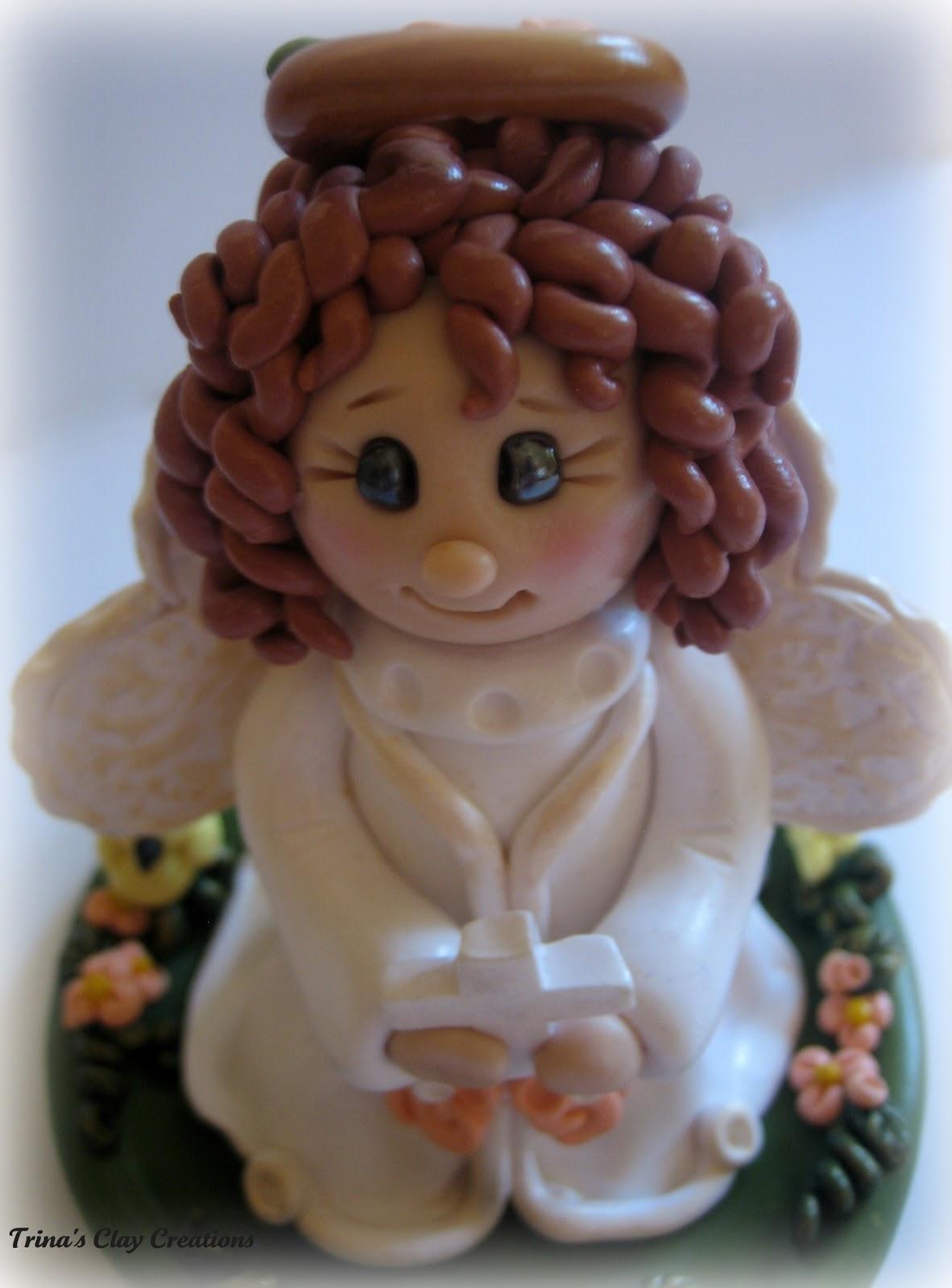 Trina 39 S Trinketts My Angel Cake Topper