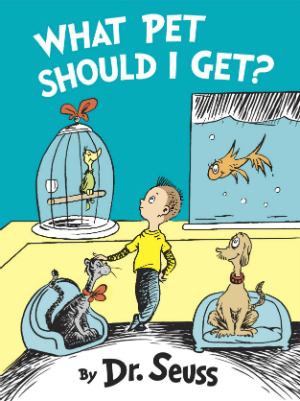 """What Pet Should I Get"" releases on July 28, 2015."
