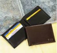 custom personalized leather wallet for men